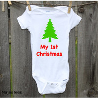 1st Christmas Onesuits®, Baby's 1st Christmas