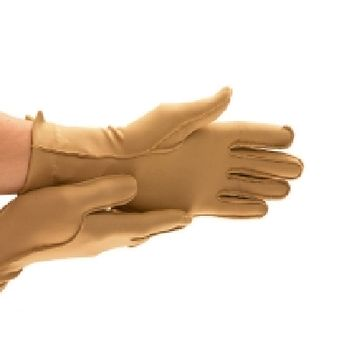 Isotoner® Therapeutic Compression Glove Full Finger Large Over-th-Wrist Left Hand Nylon and Spandex - EA/1