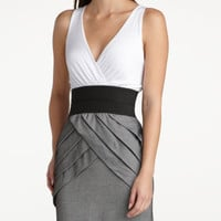 Charlotte Russe - Criss-Crossed 2-Fer Dress