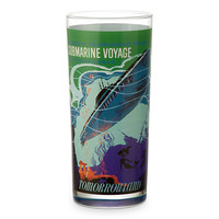 Disney Parks Attraction Poster Tall Glass Tumbler - Space Mountain/Submarine Voyage