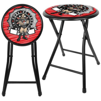 WWE Kids CM Punk 18 Inch Folding Stool - Black
