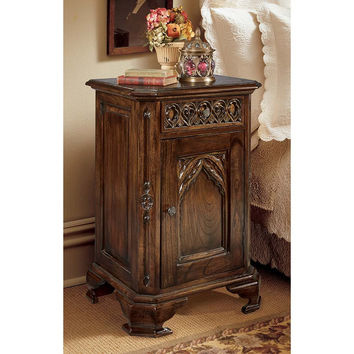 Park Avenue Collection Gothic Bed Side Table