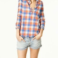 CHECKED SHIRT - Shirts - Collection - TRF - ZARA Portugal