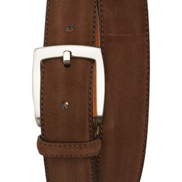 Men's Magnanni 'Crosta' Suede Belt