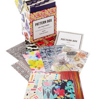 Dorm Decor Colorful Correspondence Postcard Set in Patterns by Chronicle Books from ModCloth