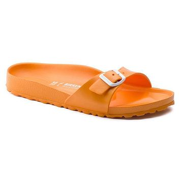 Best Online Sale Birkenstock Madrid Essentials Eva Neon Orange 128323 Sandals