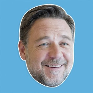 Happy Russell Crowe Mask by RapMasks