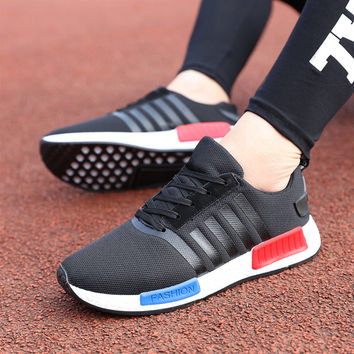 Low-cut Shoes Fashion Permeable Casual Sports Men's Sneakers [9252880972]
