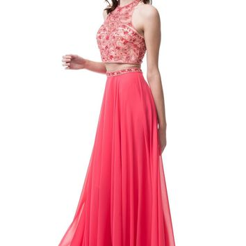 Affordable 2 piece prom dress  Bicici Coty Bc#MG3121