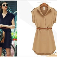 Summer Stylish Simple Design Casual One Piece Dress [6048347969]