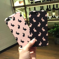 Cute Adorable Bunny Iphone 7plus 6s Plus Cases