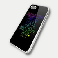 MARILYN MONROE QUOTE RAINBOW 4 case iPhone Case And Samsung Galaxy Case