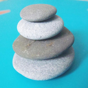 zen stone stacked cairn stones natural pepples zen garden pile mini stack sea stone italian beach home rock raw genuine lasoffittadiste