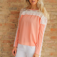 Averlly Top - Peach