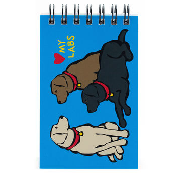 Labs Spiral Notepad