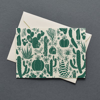 Cacti Stationery Set