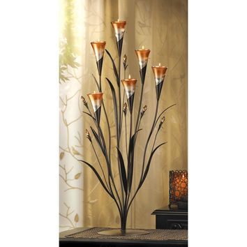 Dawn Lilies Multi-Candle Holder