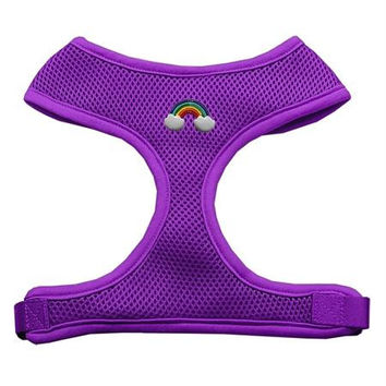 Rainbow Chipper Purple Harness Small