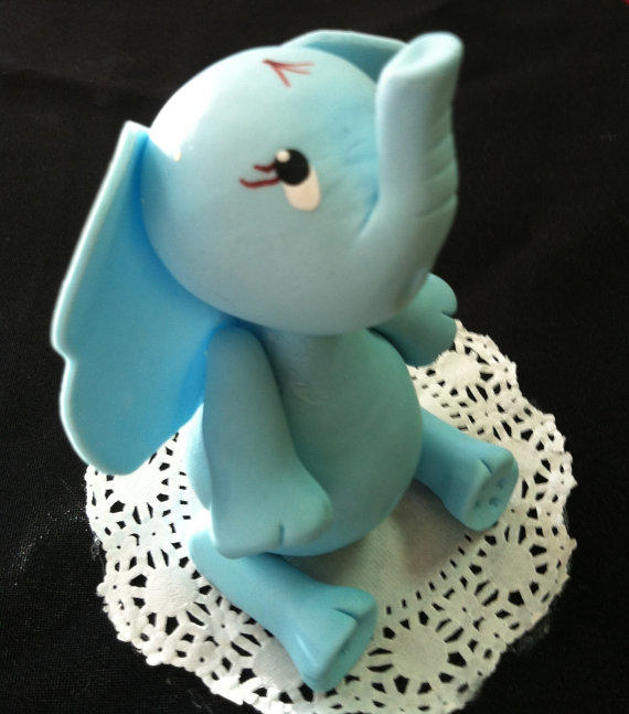 Elephant Cake Topper, Jungle Cake Topper, From Party Favors Miami