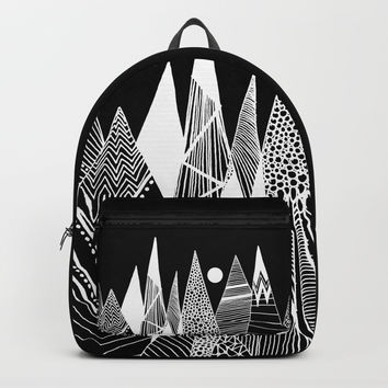 Patterns in the mountains Backpack by vivianagonzlez