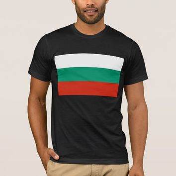 T Shirt with Flag of Bulgaria
