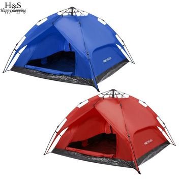 2 - 3 Person Instant Pop-up Dome Tent with carrying bag (2 colors available)