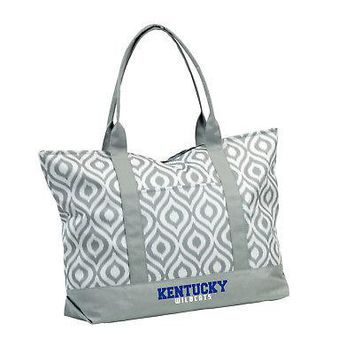 Licensed Kentucky Wildcats Official NCAA Ikat Tote by Logo Chair Inc. 056911 KO_19_1