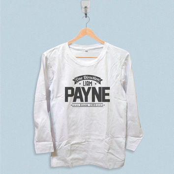 Long Sleeve T-shirt - One Direction Liam Payne