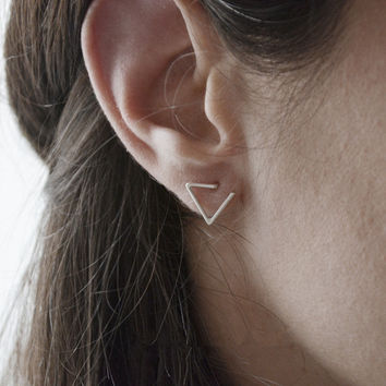 Strong Character Geometric Stylish Earring Accessory [4918493124]