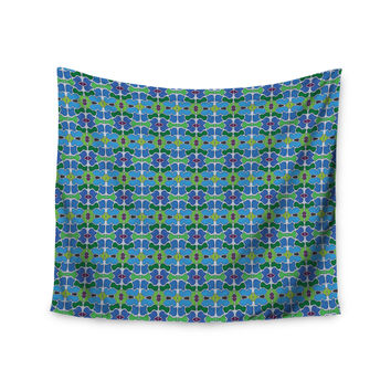 "Empire Ruhl ""Sea Glass"" Wall Tapestry"