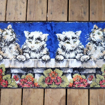 Cat Wall Hanging Cat Decoration Wall Tapestry Hipster Decor Hipster Wall Hanging Vintage