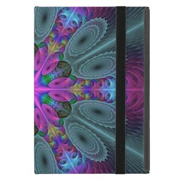 Mandala from the Center Colorful Fractal Art iPad Mini Case