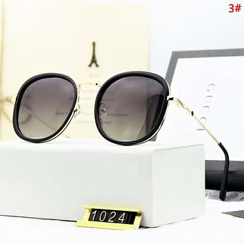 GUCCI Fashion New Polarized Sun Protection Women Men Eyeglasses Glasses  3#