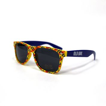 Old Bay with Maryland Flag / Shades