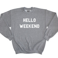 Hello Weekend Sweater