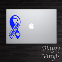 Support The Blue/ Law Enforcement/Back The Blue/ Car/Computer vinyl decal