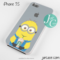 i love starbucks minion Phone case for iPhone 4/4s/5/5c/5s/6/6 plus