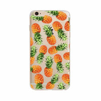 Golden Pineapples Aloha Case for iPhone 6 6S