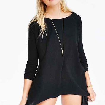 Silence + Noise Strong Shoulder Tunic
