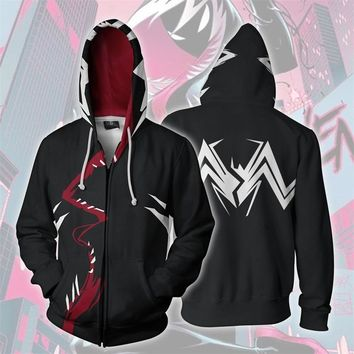 Venom Spider Man 3D Print Hoodies Sweatshirts Cosplay Costumes Hooded Large Casual Coat Jacket