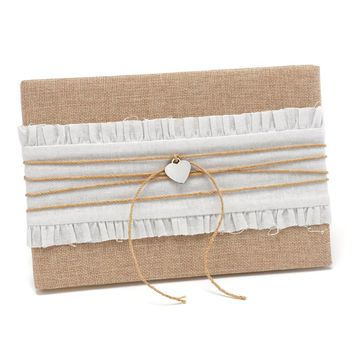 Rustic Romance Guest Book - Perfect Wedding Gift