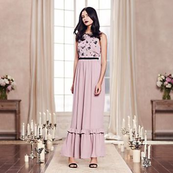 LC Lauren Conrad Runway Collection Embellished Maxi Dress - Women's
