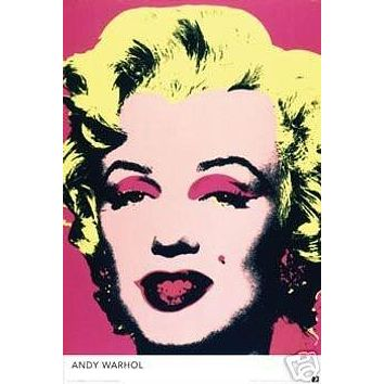 MARILYN MONROE ANDY WARHOL NEW 24X36 POSTER RARE PRINT
