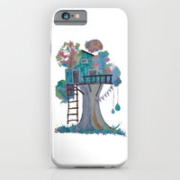 Treehouse iPhone & iPod Case by Dim_kad
