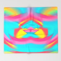 TAG IT UP Throw Blanket by Chrisb Marquez