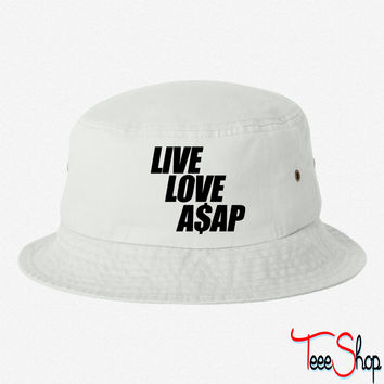Live Love A$AP bucket hat