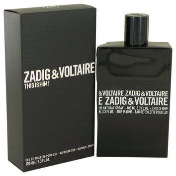 This is Him by Zadig & Voltaire Eau De Toilette Spray 3.4 oz