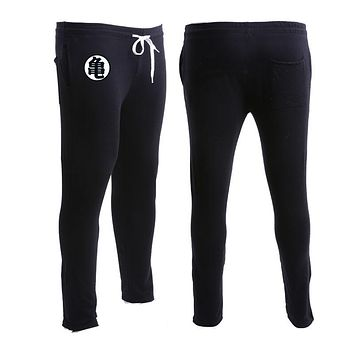 Jogger Pants Men Fitness Bodybuilding Golds Gyms Clothing Anime Dragon Ball Z GOKU Sweatpants Men Brand Casual Pure cotton