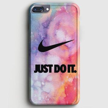 Nike Just Do It Galaxy Nebula  02 iPhone 8 Plus Case | casescraft