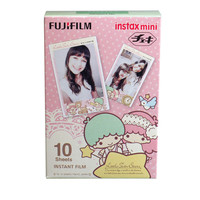 10 Fuji instax mini films / Polaroid 300 Little Twins Star
